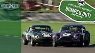 AC Cobra loses lead after Jaguar E-Type bump