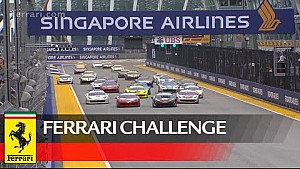 Ferrari Challenge – Spectacular wins for Merckx, Teo and Yang in Singapore