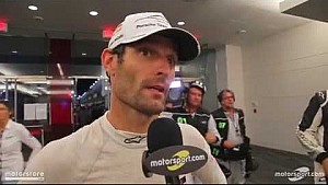 Mark Webber 6 Hours of COTA röportajı