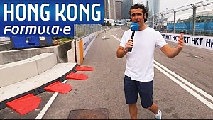 Hong Kong guía de pista con Dario Franchitti Fórmula E