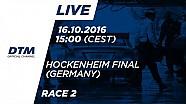 2. Yarış - DTM Hockenheim Final 2016
