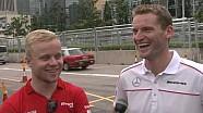 GT meets F3 – Rosenqvist and Engel talk Macau Grand Prix
