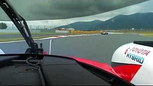 Caméra embarquée avec Toyota à Fuji