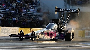 NHRA Top Fuel pilot Antron Brown scores the No. 1 in Texas