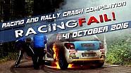 Racing and Rally Crash Compilation Week 41 September 2016
