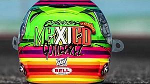 Esteban Gutiérrez presenta casco edición especial