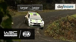 Büyük Britanya, Galler Rallisi 2016: WRC2 Cumartesi Özeti