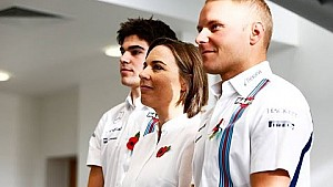 Valtteri Bottas and Lance Stroll to race for Williams in 2017