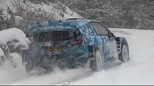 Ford Fiesta WRC 2017, test a Monte Carlo per Ott Tanak