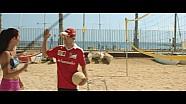 Partido de voleibol de playa