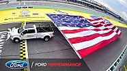 2017 Ford Super Duty Breaks Guinness World Record | NASCAR | Ford Performance
