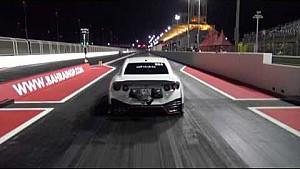 Deze Nissan GT-R doet 400 meter in 7 seconden