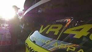 Valentino Rossi bij de Monza Rally Show