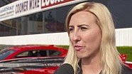 Courtney Force testet Camaro ZL1