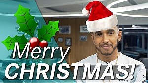 Merry Christmas from Lewis Hamilton