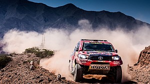 Dakar 2017: Stage 04 - Car/Bike