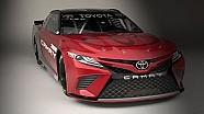 Nuevo look del auto de  JGR en el Detroit Auto Show