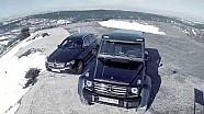 Mercedes-Benz G 500 4x4 ile İstanbul Park'ta kar sürüşü