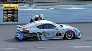 Аварии и столкновения в гонке поддержки к Daytona 2017