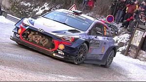 Acciones en Slowmotion Rally de Monte Carlo - Hyundai Motorsport 2017