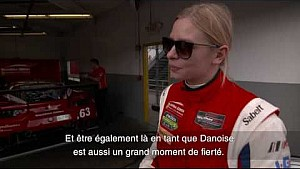 24h Le Mans 2017: Interview, Christina Nielsen