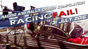 Carreras y Rally Crash compilación semana 31 de julio de 2016