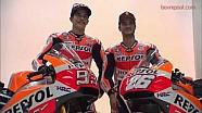 Backstage: Marquez & Pedrosa