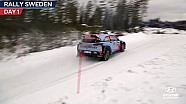 Hyundai Motorsport: первый день Ралли Швеция