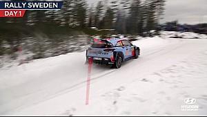 Rally Sweden Day One - Hyundai Motorsport 2017