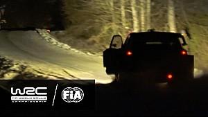Rally Suecia 2017: puerta abierta Neuville SS08