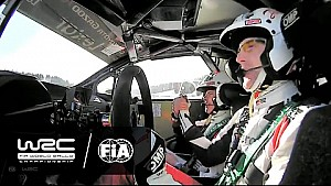 Rally Suecia 2017: Power Stage SS18