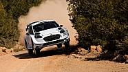 Sébastien Ogier en essais avant le Rallye du Mexique