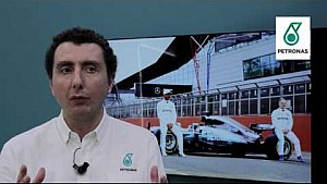 Andrea Dolfi on new Mercedes W08 fuel and oil