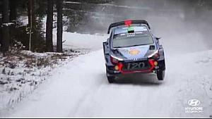 Rally Sweden Best of: Jumps - Hyundai Motorsport 2017