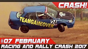 Semana 7 Febrero 2017 Racing & Rally Crash Compilación