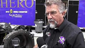 Crew chief John Medlen explains what happened to Jack Beckman's Funny Car in Phoenix