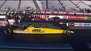 Mike Coughlin picked up the Top Dragster win at the Winternationals