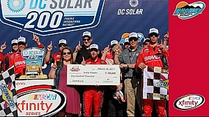 Allgaier takes home Dash 4 Cash check