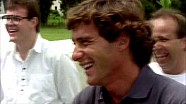 Homenagem pelos 57 anos de Ayrton Senna