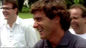 Homenaje a Ayrton Senna de su aniversario 57
