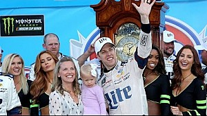 Keselowski brings home a clock