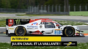 Interview - Julien Canal, nouveau pilote Vaillante !