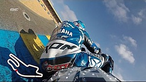 24 Hours of Le Mans - Moto - David Checa on board lap before the start