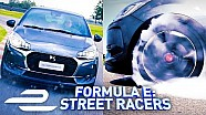 Burning Rubber In the DS3 performance! - Formula E: Street racers