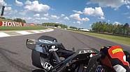 Visor cam: Graham Rahal en el Barber Motorsports Park