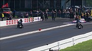Jay Turner vs. Robert Malloy - Houston top fuel Harley final
