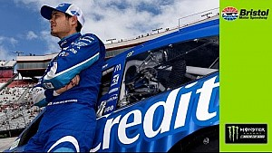 Larson: 'I knew I gave the race away there'