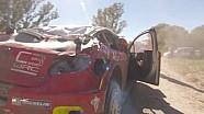 WRC-2017阿根廷拉力赛-克里斯·米克第四赛段事故