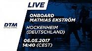 Mathias Ekström (Audi RS5 DTM) - Araç Üstü 1. Yarış - DTM Hockenheim 2017