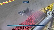 Crashes in WEC 6 Hours of Spa-Francorchamps [part 1]